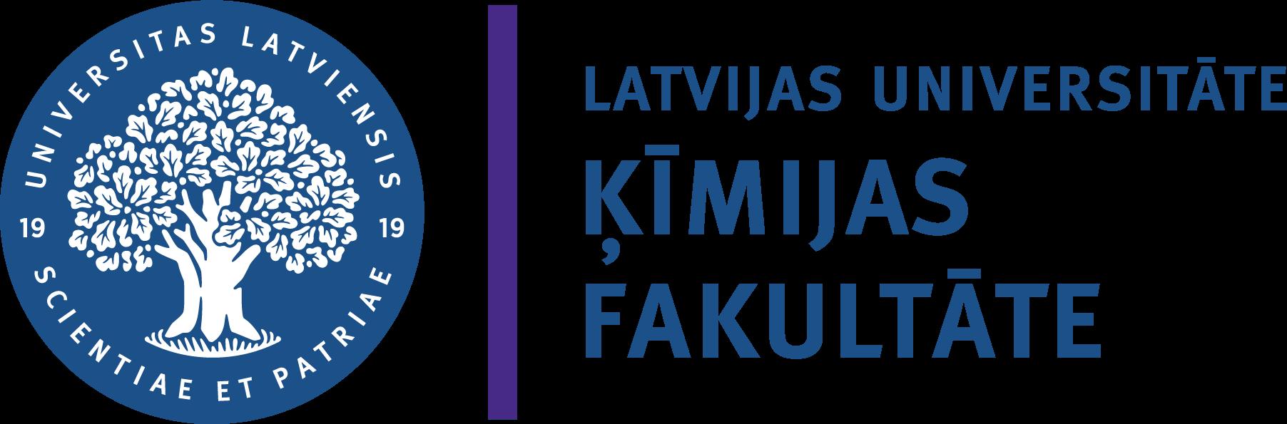 Latvijas Universitātes Ķīmijas fakultātes logo